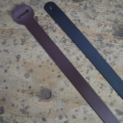 Leather Billet Guitar Strap Extension