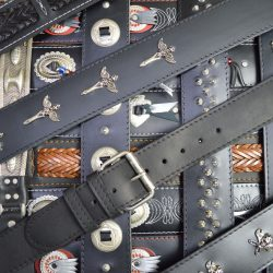 Decorative Leather Guitar Straps