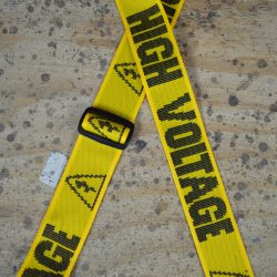 High Voltage Printed Webbing Guitar Strap