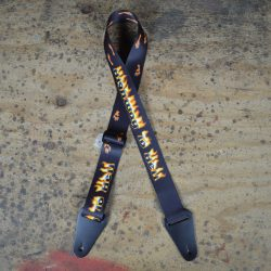 Highway to Hell Printed Webbing Guitar Strap