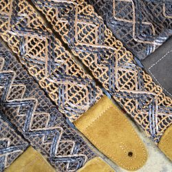 Lacing & Suede Guitar Straps
