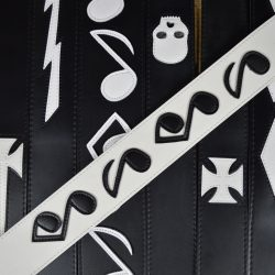 Leather on Leather Guitar Straps