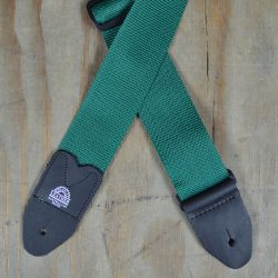 Dark Green Webbing Guitar Strap