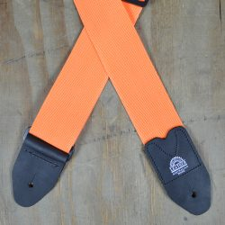 Orange Webbing Guitar Strap