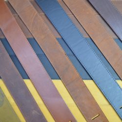 Soft Leather Guitar Straps