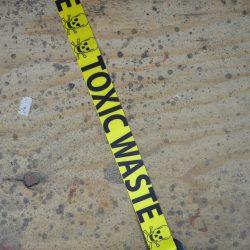 Toxic Waste Printed Webbing Guitar Strap