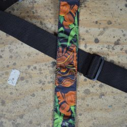 Idol & Jungle Tattoo Rag Guitar Strap