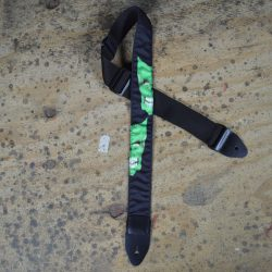 Mask Green Tattoo Rag Guitar Strap