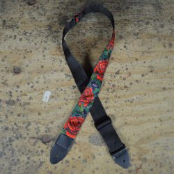 Rose Tattoo Rag Guitar Strap