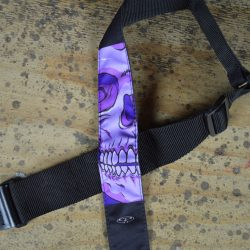 Skull Tattoo Rag Guitar Strap