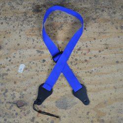 Blue Webbing Ukulele Strap