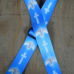 Blue Dove Printed 50mm Webbing Guitar Strap