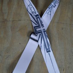 Cross Printed 50mm Webbing Guitar Strap