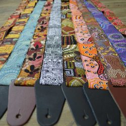 Aboriginal Art Guitar Straps