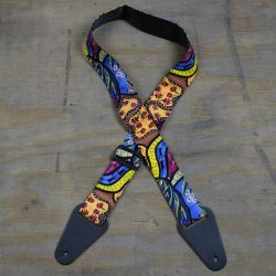 Aboriginal Art Guitar Strap – Native Fauna