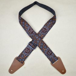 Aboriginal Art Guitar Strap – Water Collecting