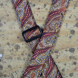 Aboriginal Art Rag Ukulele Strap – Women Collecting Water Brown